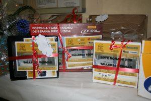 Lotes donados por Talleres Bermar