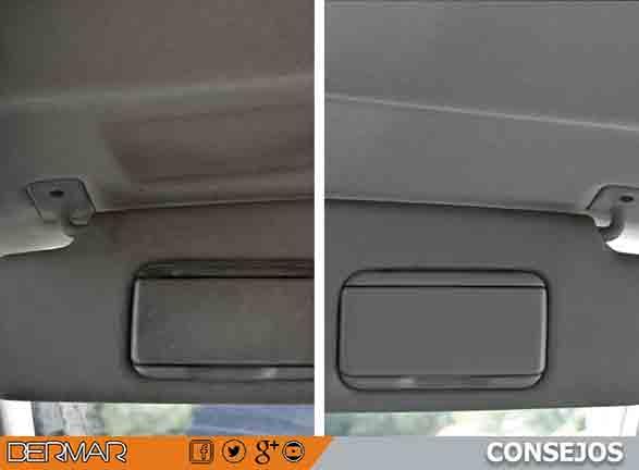 La mejor manera de limpiar el techo del interior de tu coche talleres bermar - Limpiar el interior del coche ...