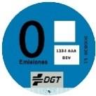 Etiqueta ambiental 0 emisiones