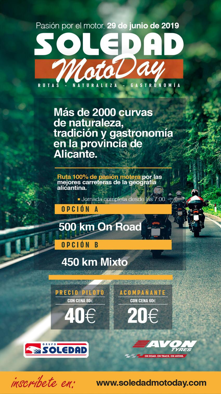 Ruta Soledad Moto Day